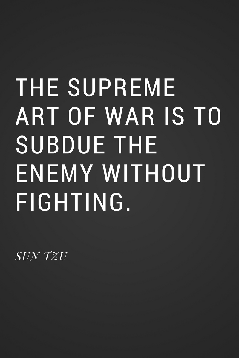 The Supreme Art Of War Is To Subdue The Enemy Without Fighting Sun Tzu Anndy Lian Inter Governmental Blockchain Adviser Book Author Investor Board Member Singapore