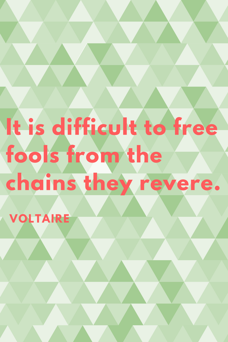 It Is Difficult To Free Fools From The Chains They Revere Voltaire Anndy Lian Inter Governmental Blockchain Adviser Book Author Investor Board Member Singapore