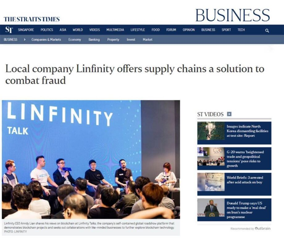 Local company Linfinity offers supply chains a solution to combat fraud
