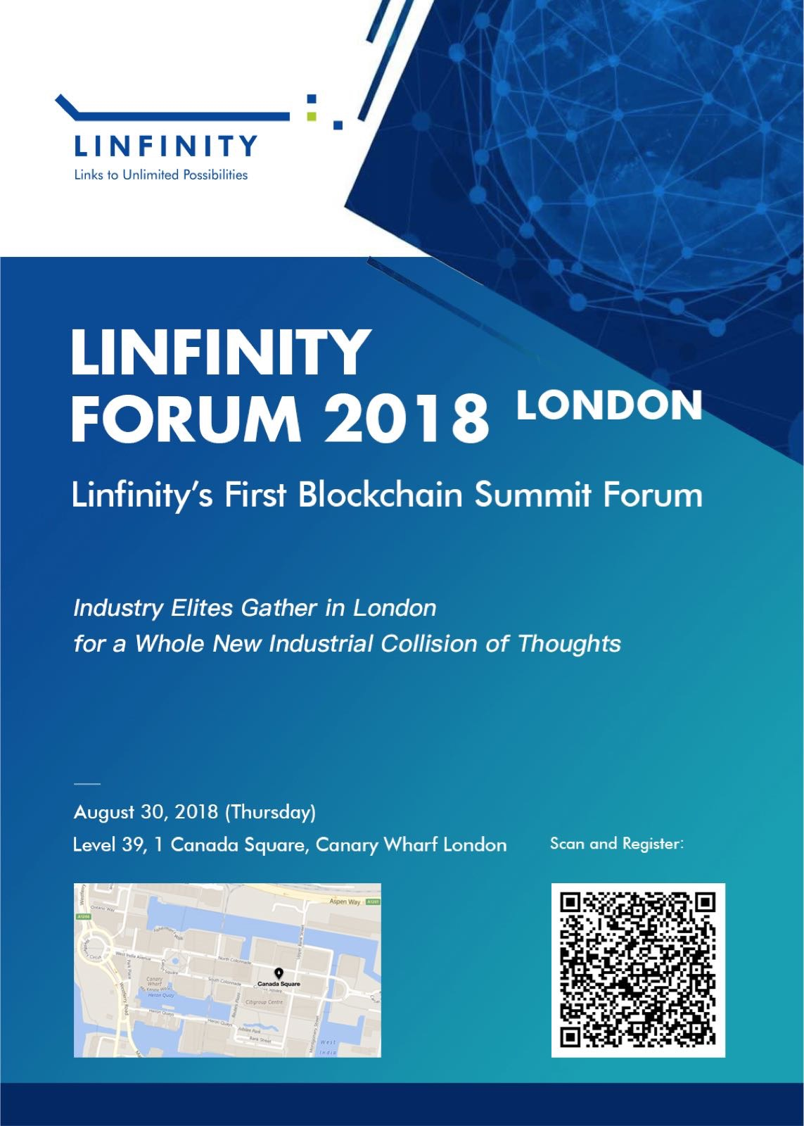 , Linfinity Forum 2018: Industry Elites Gather in London, Blockchain Adviser for Inter-Governmental Organisation | Book Author | Investor | Board Member