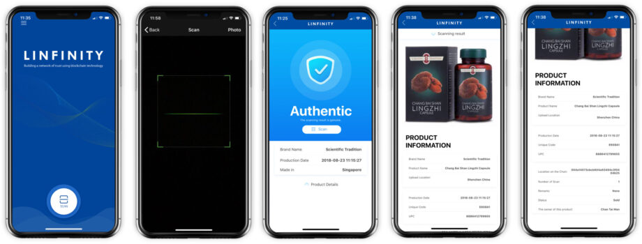 The New Paper: LINFINITY DApp for Healthcare Products