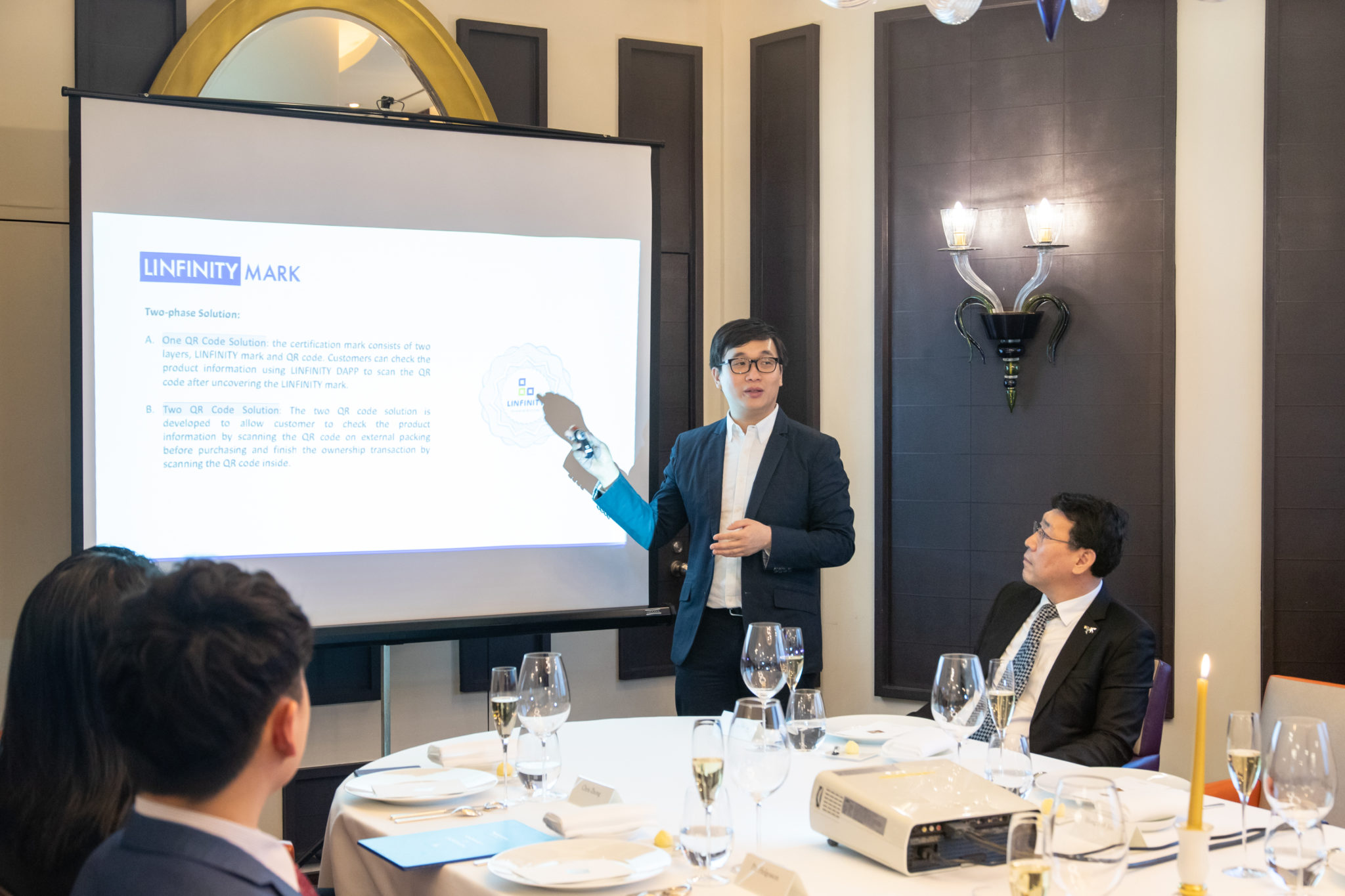 , LINFINITY Roundtable Reaches A Consensus  on the Integration of Blockchain with Traditional Industries, Blockchain Adviser for Inter-Governmental Organisation   Book Author   Investor   Board Member