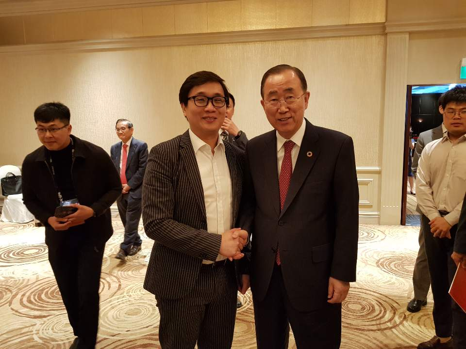 , Blockchain for Social Impact: An Opportunity to Reshape the World- Guest Speakers Ban Ki-Moon & Anndy Lian share the same the views, Blockchain Adviser for Inter-Governmental Organisation   Book Author   Investor   Board Member