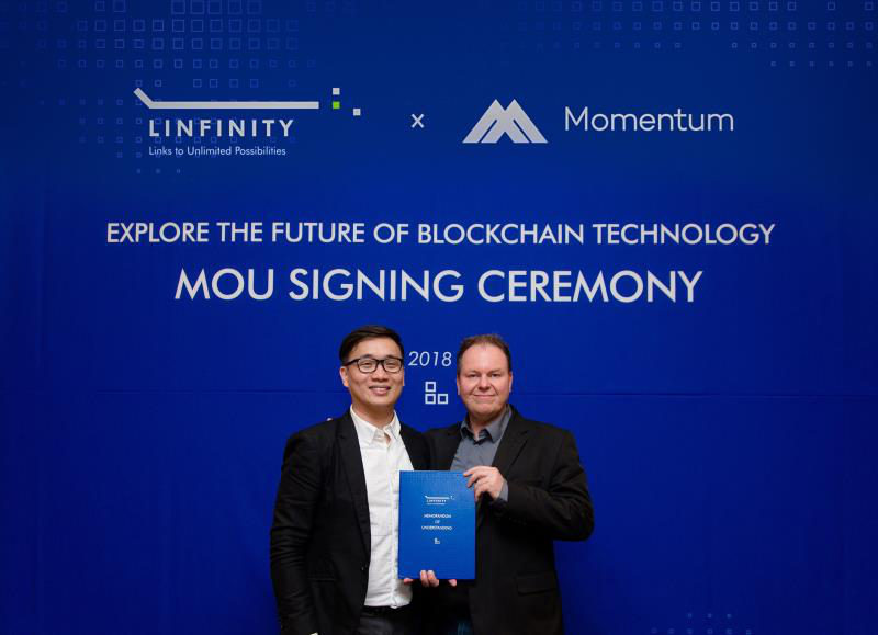 Linfinity and Momentum Work Together to Incentivize Their Users Globally