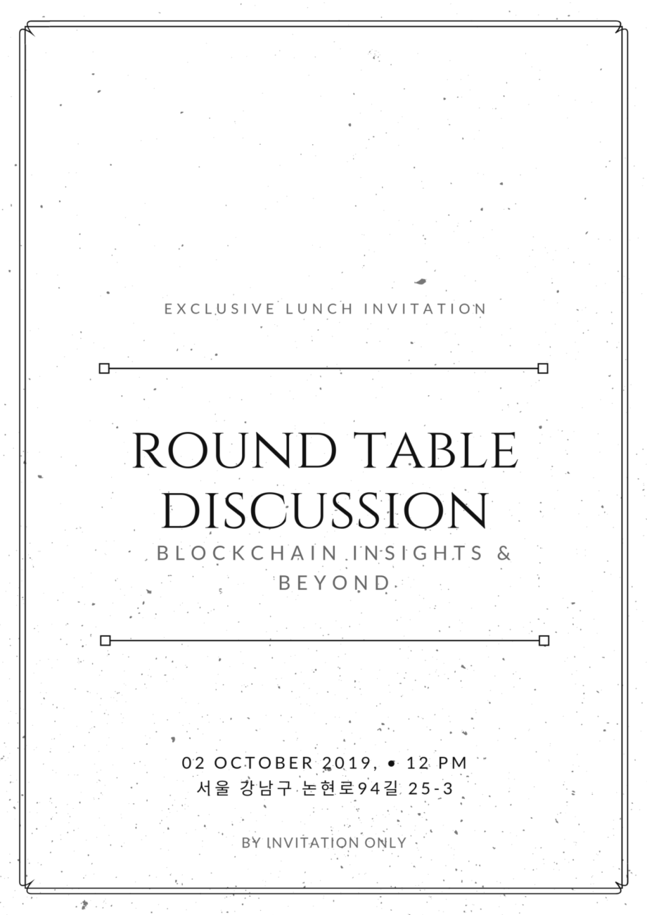Roundtable Discussion: Blockchain Insights & Beyond
