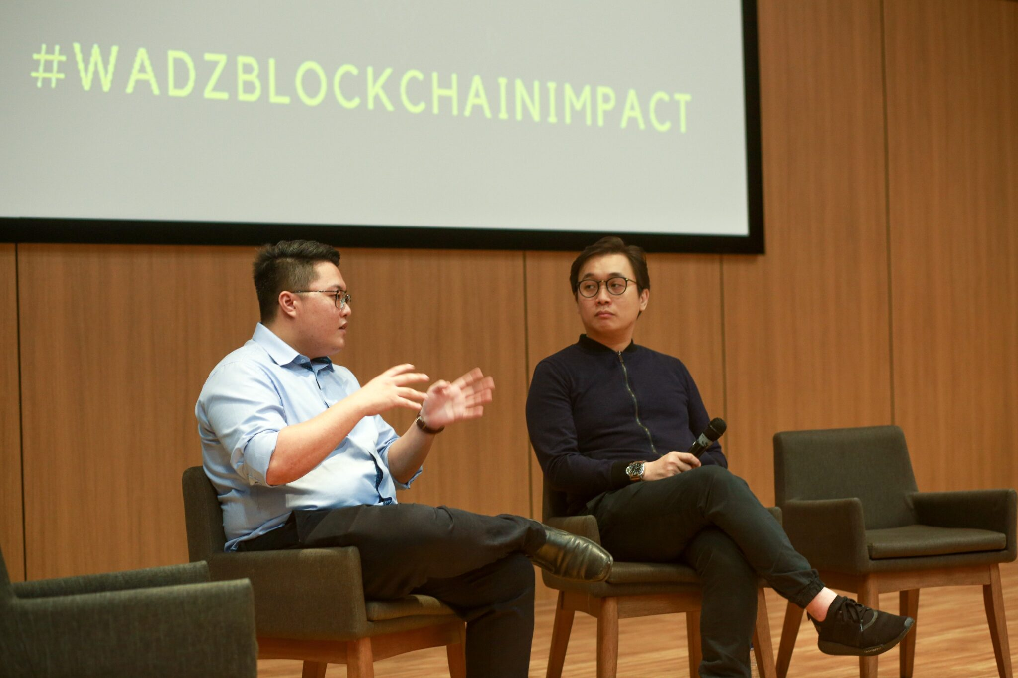 """, """"Looking at Blockchain using a different lens"""": Anndy Shared at Panel Discussion, Blockchain Adviser for Inter-Governmental Organisation 