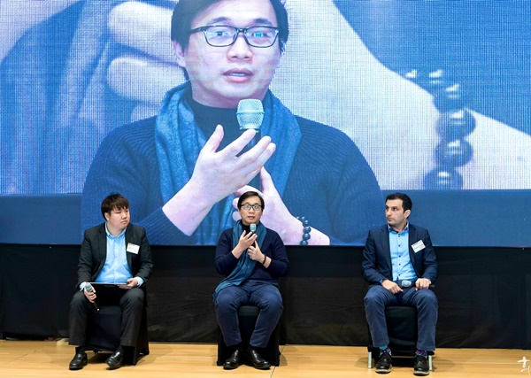 """World Blockchain Summit Busan 2020: Anndy Lian Author of Blockchain Revolution 2030 """"Build the business step by step, and not think you are bitcoin"""""""