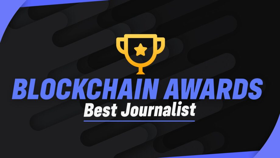 Thanks for the Blockchain Journalist Awards Recognition from #Uptrennd