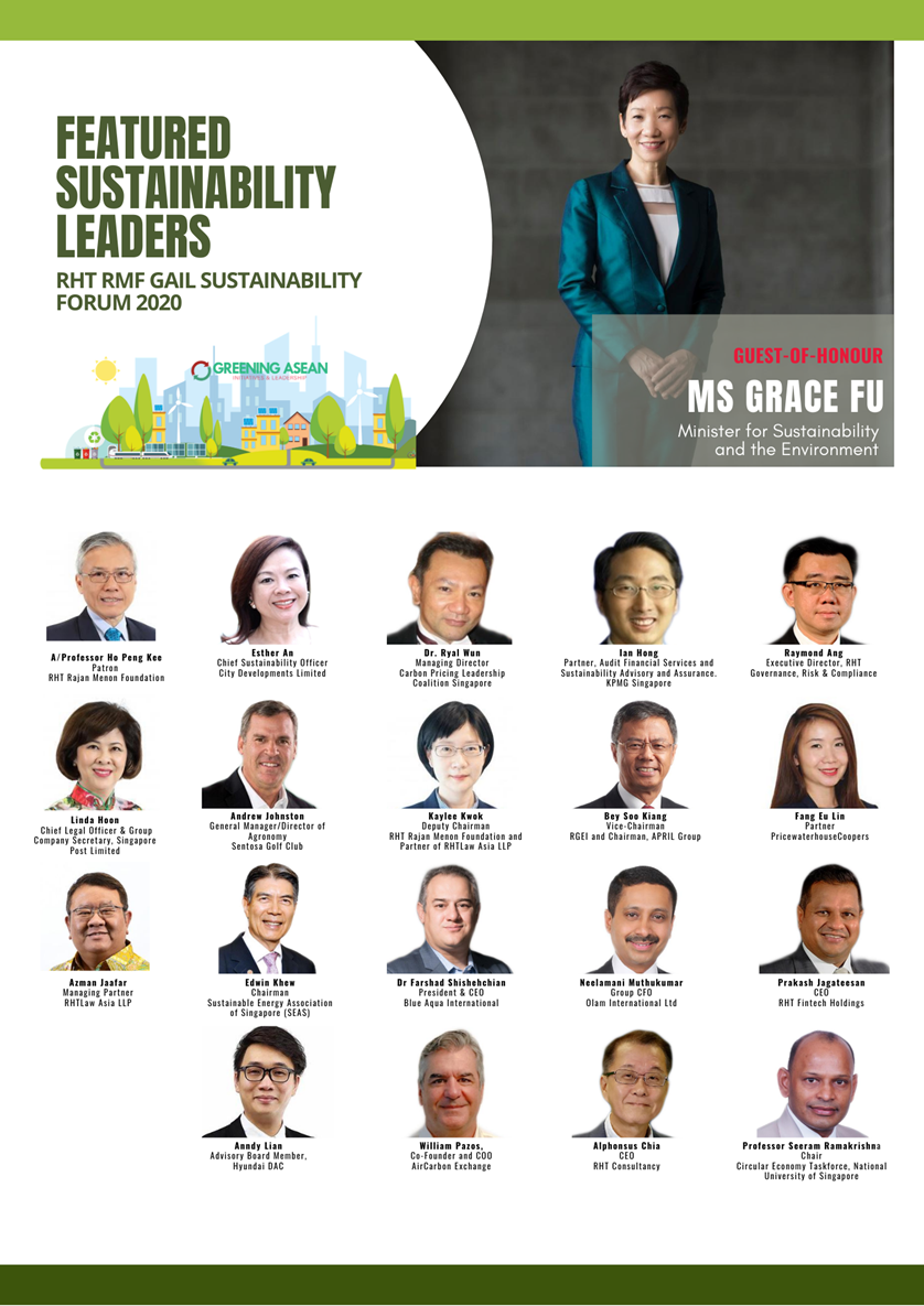 Anndy Lian to Speak at RHT RMF GAIL Sustainability Forum 2020