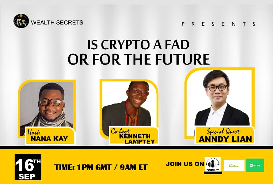 """""""Is Cryptocurrency a Fad or for the Future?"""" Anndy Lian Shares with Wealth Secrets Community"""