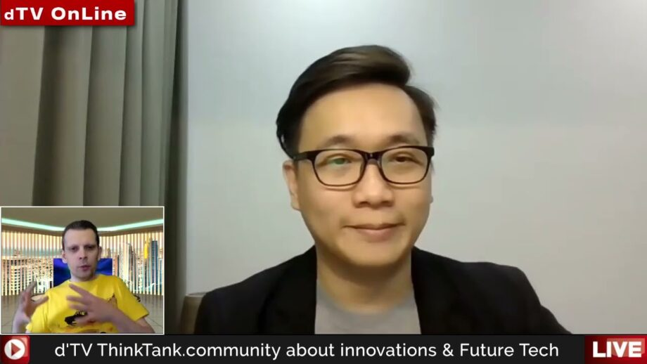 NFT discussion with Anndy Lian on dTV ThinkTank