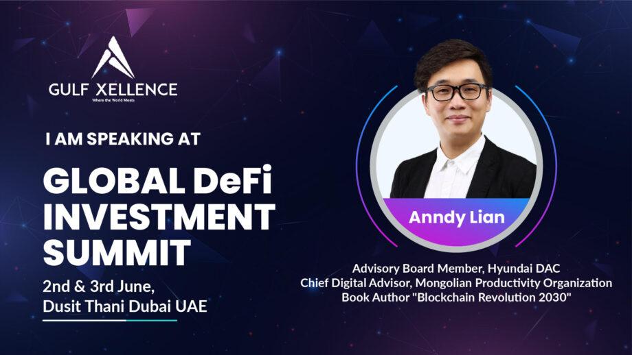 Keynote speech by Anndy Lian: Understand DeFi to Build Regulatory Frameworks Around it